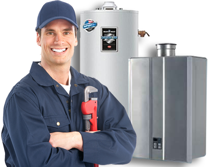 Monaco, CA Plumber Servicing Water Heater
